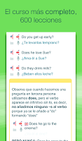 Screenshot of Aprender inglés con Wlingua