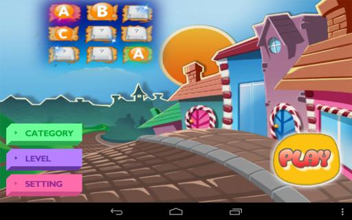 Alphabet Memory Game for KIDs