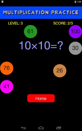 Quick Strike Math Game - Kids' Practice  screenshots 2