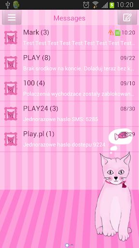 SMS ProのピンクキティをGO
