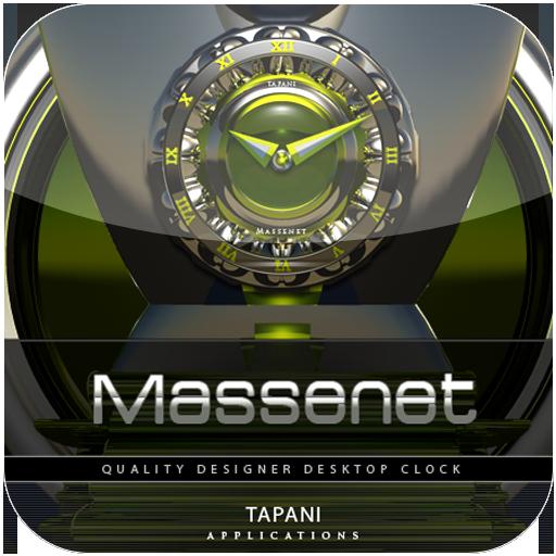 Massenet ALARM Clock Widget LOGO-APP點子