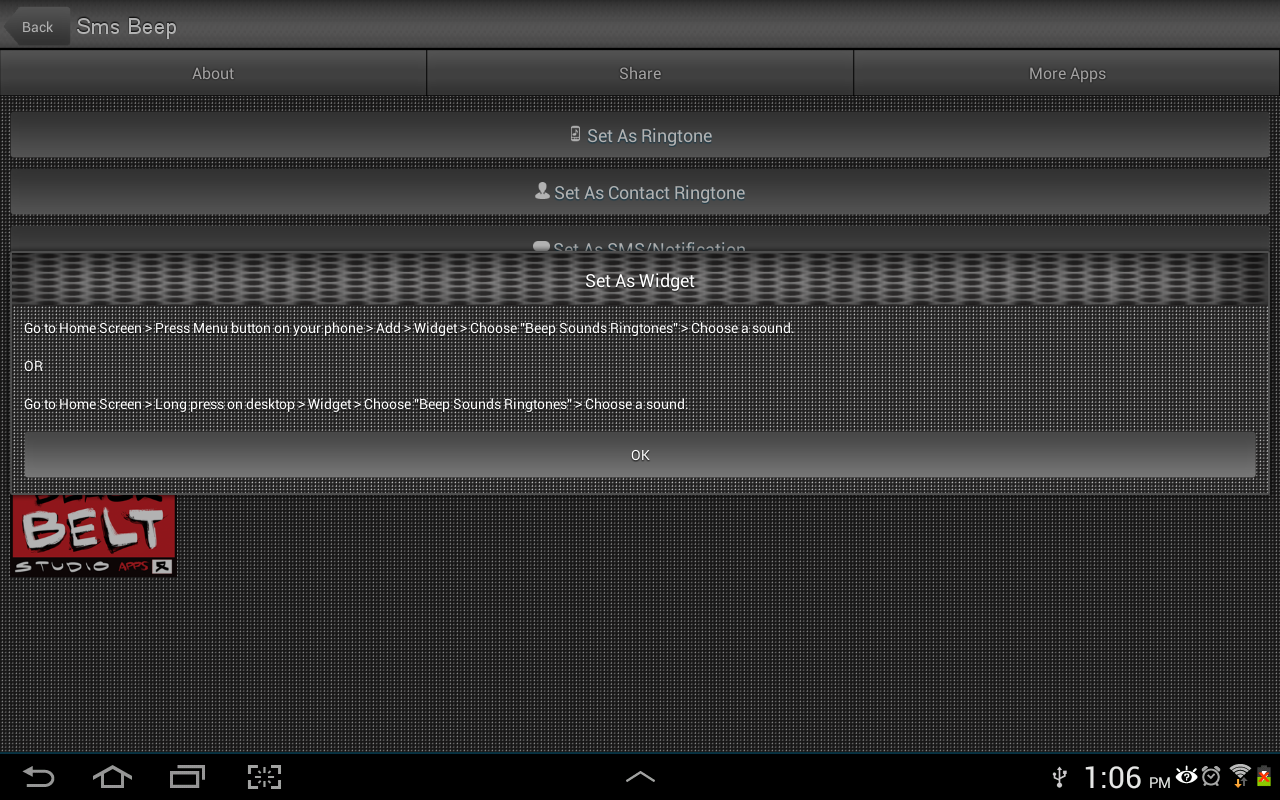 Beep Sounds Ringtones - screenshot