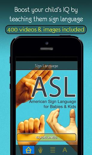 Sign Language - Babies Kids