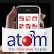 atom mobile application.