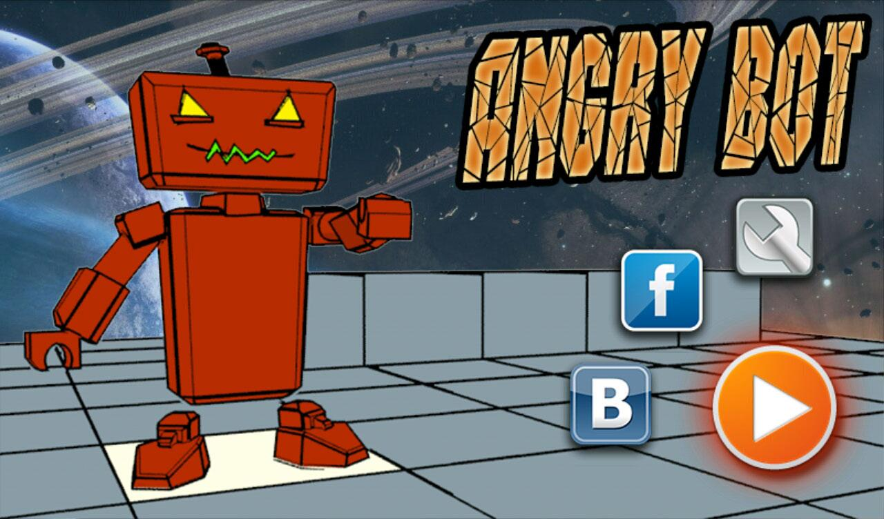 Angry Bot- screenshot
