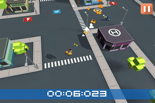 MiniChase 警察:警车 3D 游戏