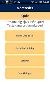 Norstedts svenska quiz - screenshot thumbnail