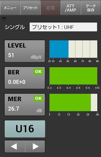 シグナルレベルメーターLF10用アプリケーション