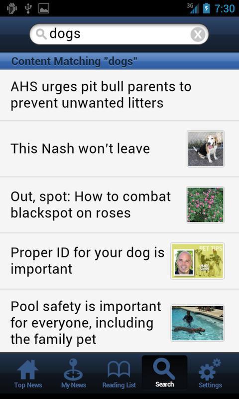 AFNnews - screenshot