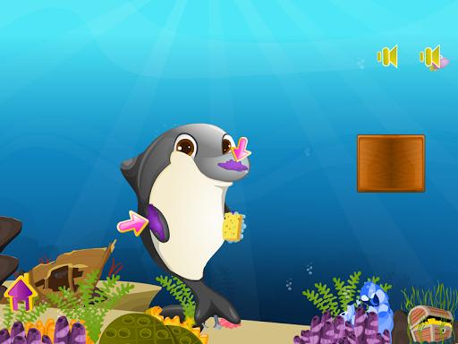 玩休閒App|海豚出生游戏的女孩免費|APP試玩