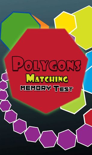 Polygons Matching Memory Test