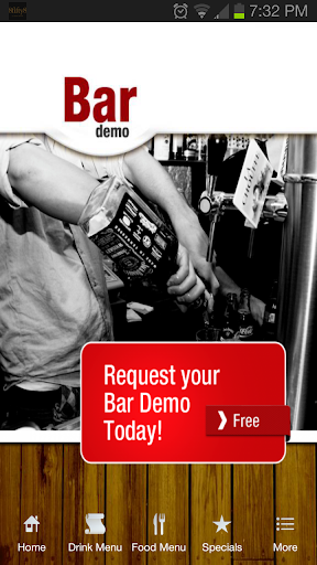 The Bar Demo