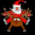 Funny Santa LWP logo