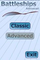 Screenshot of Battleships Advanced Lite