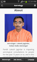 Screenshot of Capricorn Horoscope मकर राशिफल