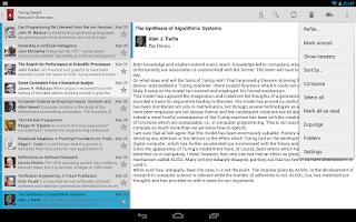 Screenshot of Kaiten Mail (Free)