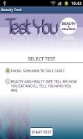 Screenshot of Test You Beauty & Wellness