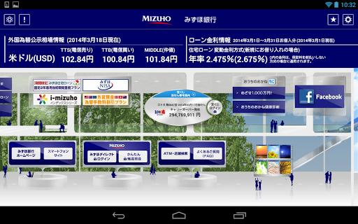 無料财经Appのみずほ銀行アプリ for Tablet|記事Game