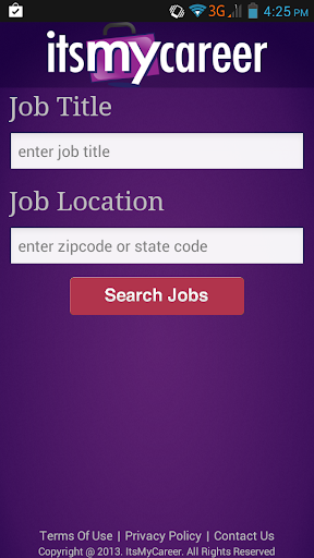 【免費商業App】Job Search - ItsMyCareer-APP點子