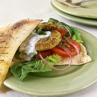Crispy Pan Seared Falafel