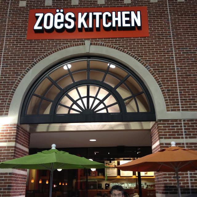 Zoe Kitchen: 12850 Memorial Dr #1120, Houston