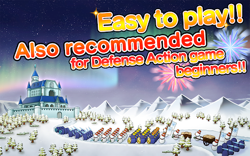SNOW WORLD:Easy defense action- screenshot thumbnail