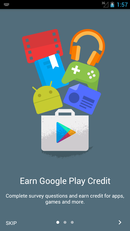 Google Opinion Rewards - screenshot