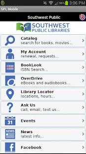 Southwest Public Libraries- screenshot thumbnail