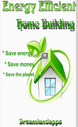 Energy Efficient Home Building