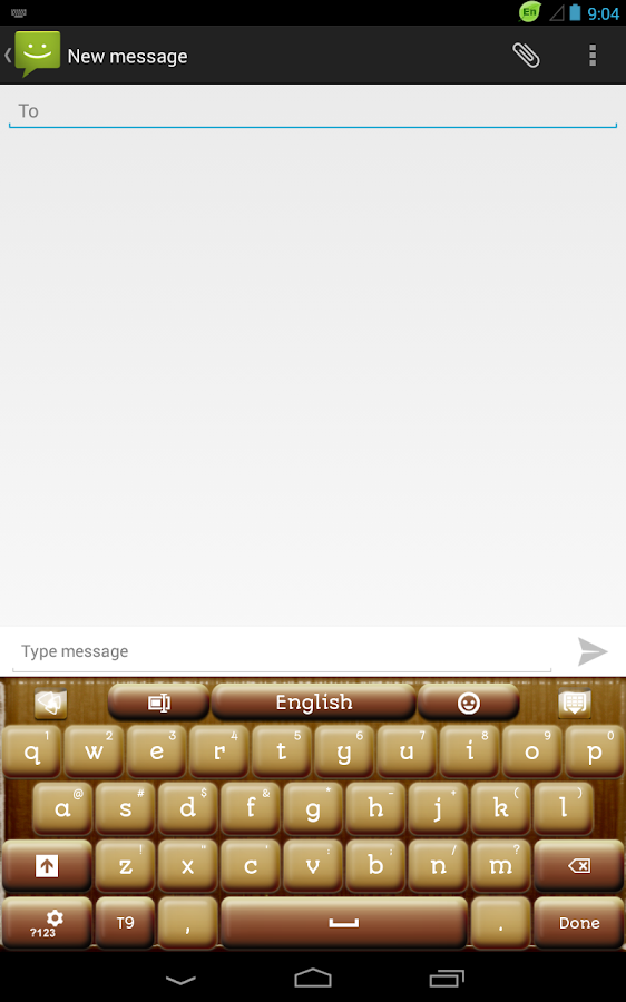 Coffee Keyboard- screenshot