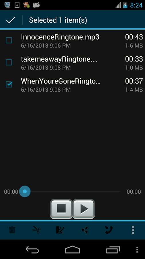 Ringtone Maker Mp3 Editor - screenshot