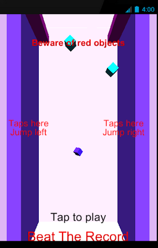 Flappy Cube 3D