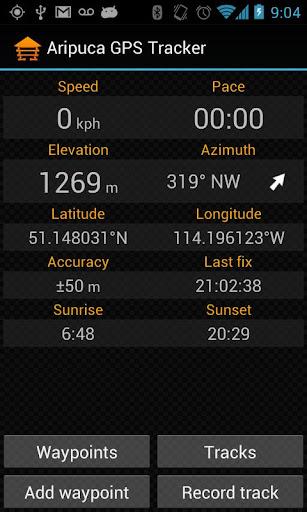 Aripuca GPS Tracker