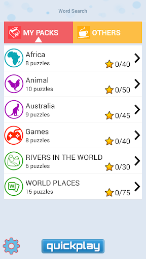 Word Search - Puzzle Game