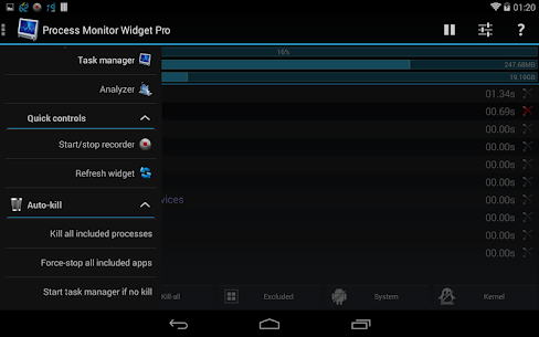 3C Process Monitor Pro 2.3 [Full Patched] Cracked Apk 7