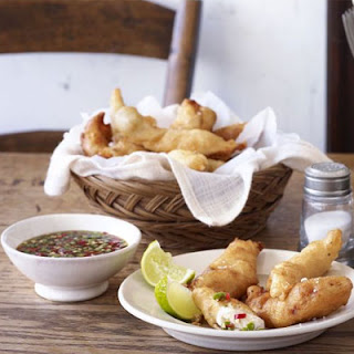 Sole Goujons with Thai Sauce Recipe