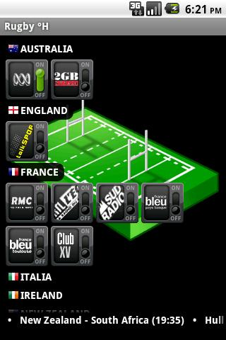 Rugby °H- screenshot