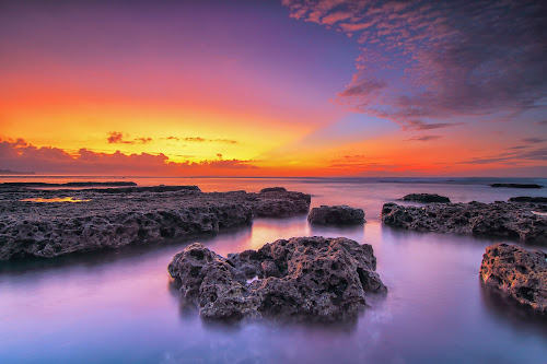between rocks and waters by I Made  Sukarnawan - Landscapes Beaches