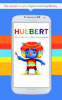 Screenshot of Huebert: coloring fun