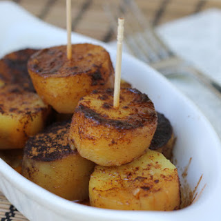 Slow Cooker Caramelized Sweet Potato Puffs