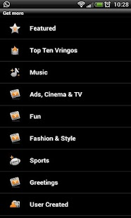 Vringo: Video Ringtones - screenshot thumbnail