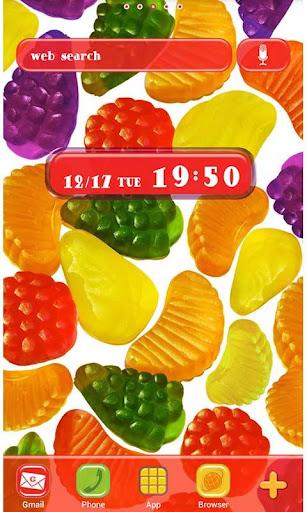 Cute Wallpaper Candy Fruits 1.1 Windows u7528 1