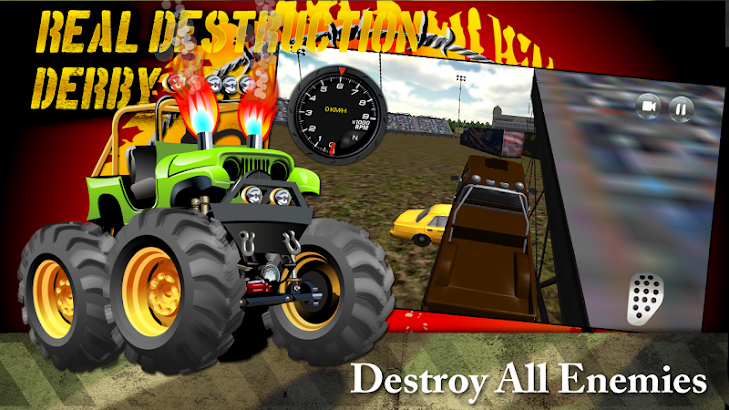 Real Destruction Derby 3D- screenshot thumbnail