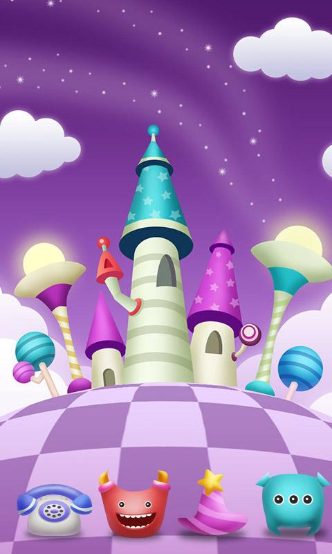 Magic World GO Launcher Theme - screenshot
