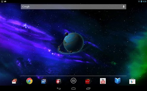 Andromeda HD 3D Live Wallpaper - screenshot thumbnail