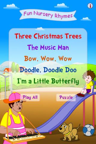 Fun Nursery Rhymes