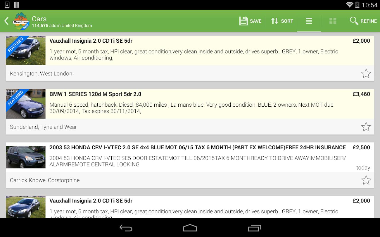 Gumtree Beta- screenshot