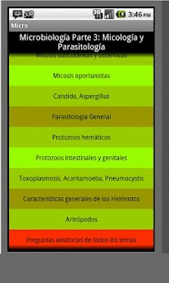 Micologia y Parasitologia- screenshot thumbnail