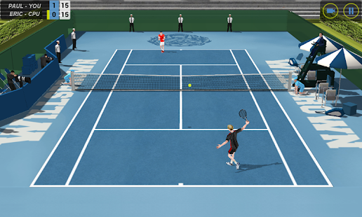 Flick Tennis- screenshot thumbnail
