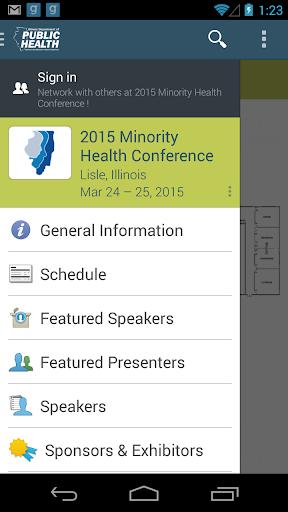 Minority Health Conference '15